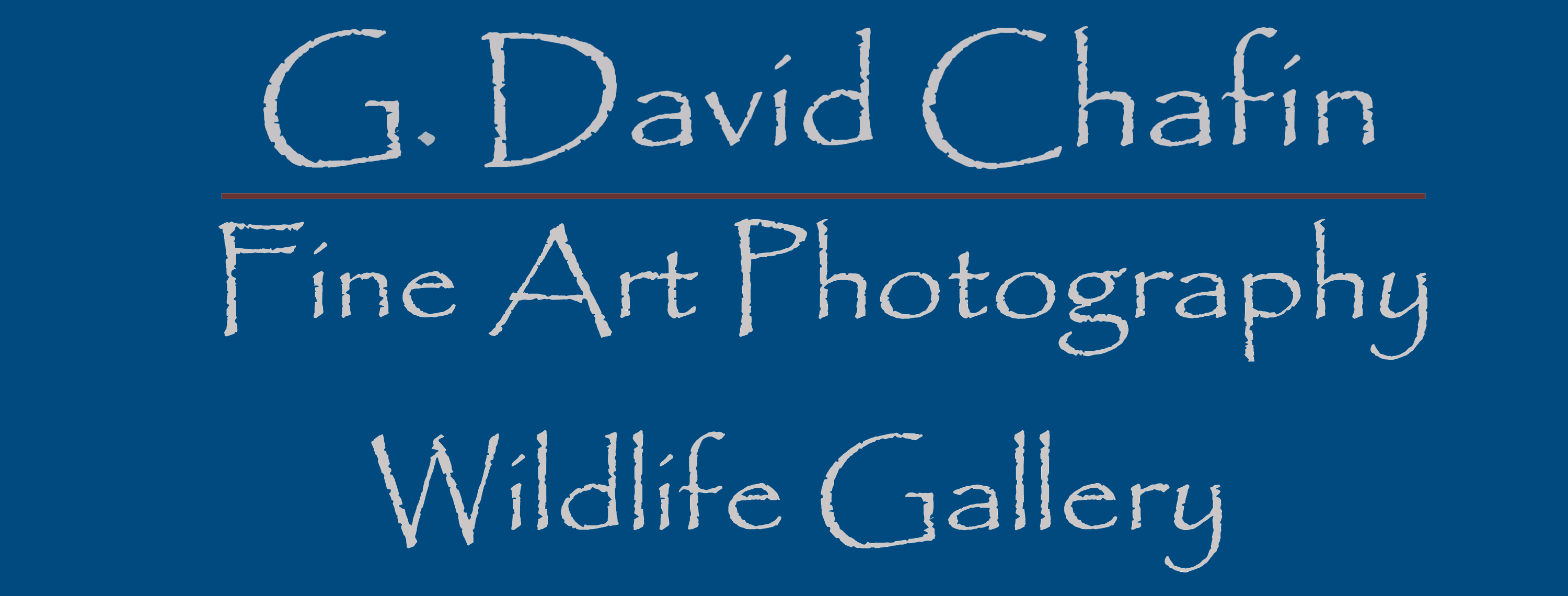 G. David Chafin Fine Art Photography